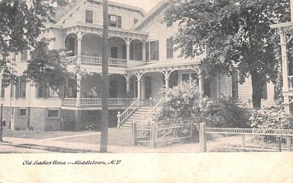 Old Ladies Home Middletown, New York Postcard