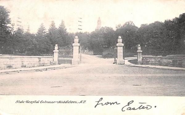 State Hosptial Middletown, New York Postcard