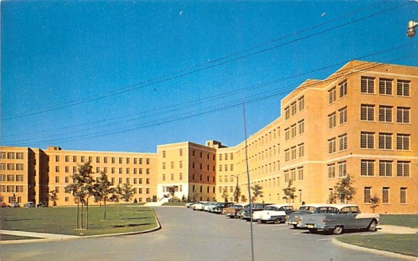 Middletown State Homeopathic Hospital New York Postcard