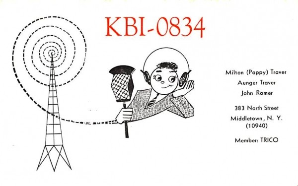 KBI 0834 Middletown, New York Postcard