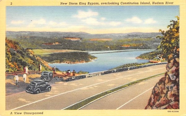 New Storm King Bypass Middletown, New York Postcard