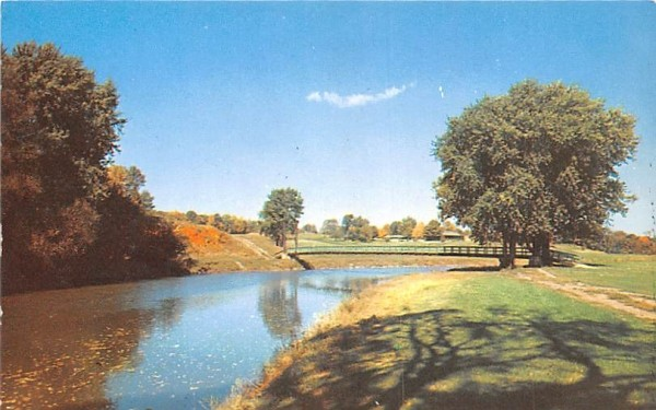 Orange County Country Club Middletown, New York Postcard