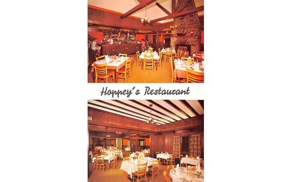 Hoppey's Restaurant & Cocktail Lounge Middletown, New York Postcard