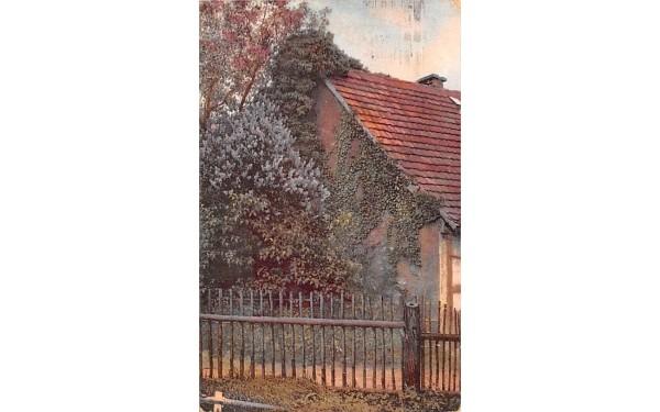 Residence and Garden Middletown, New York Postcard