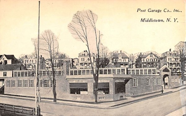 Post Garage Co Inc Middletown, New York Postcard