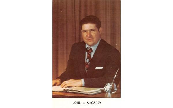 John I McCarey Middletown, New York Postcard
