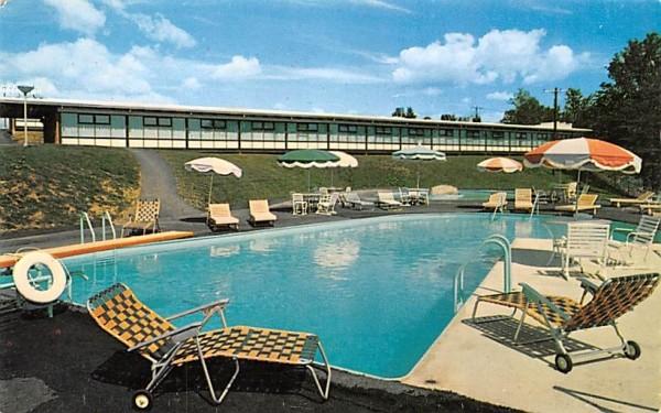 Middletown Motel New York Postcard
