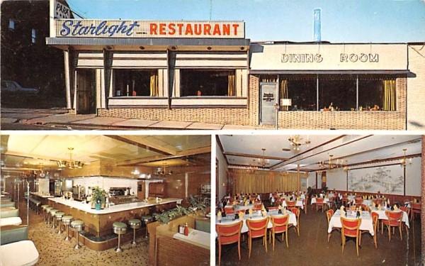 Starlight Restaurant Middletown, New York Postcard