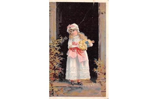 The Mehlin High Grade Piano, trade card, non postcard Middletown, New York