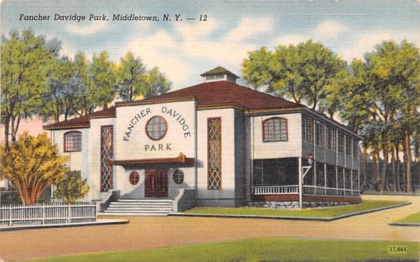 Fancher Davidge Park Middletown, New York Postcard