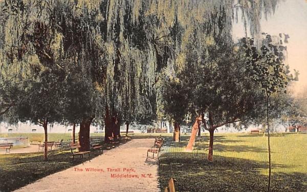 Willows Middletown, New York Postcard
