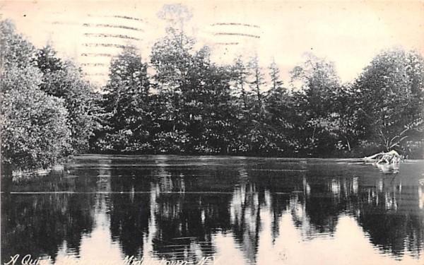 Quiet Nook Middletown, New York Postcard