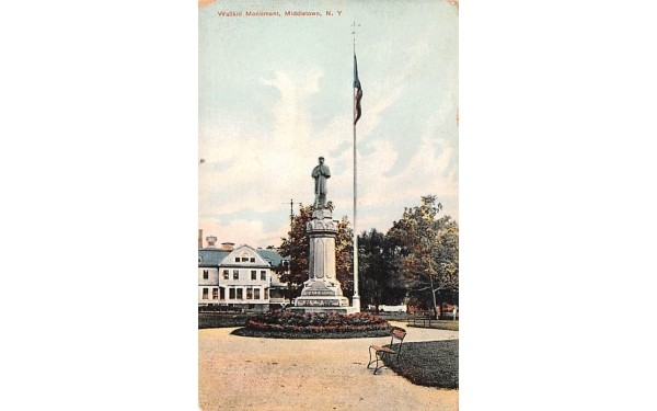 Wallkill Monument Middletown, New York Postcard
