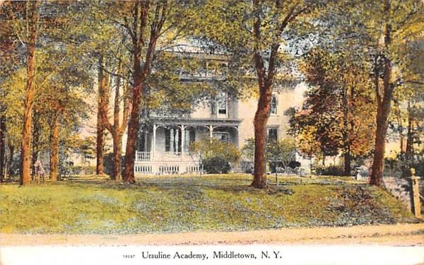 Ursuline Academy Middletown, New York Postcard