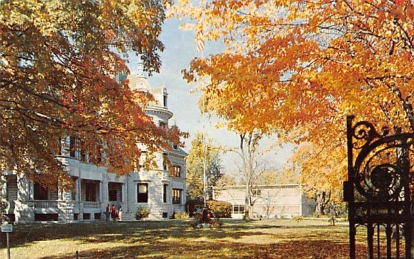 Morrison & Hudson Halls Middletown, New York Postcard