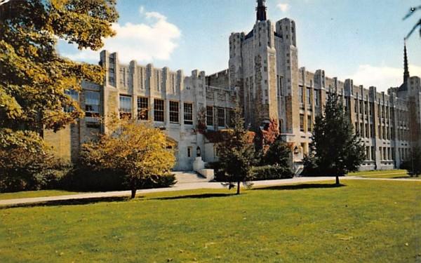 Middletown High School New York Postcard