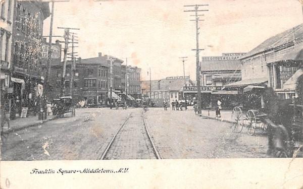 Franklin Square Middletown, New York Postcard