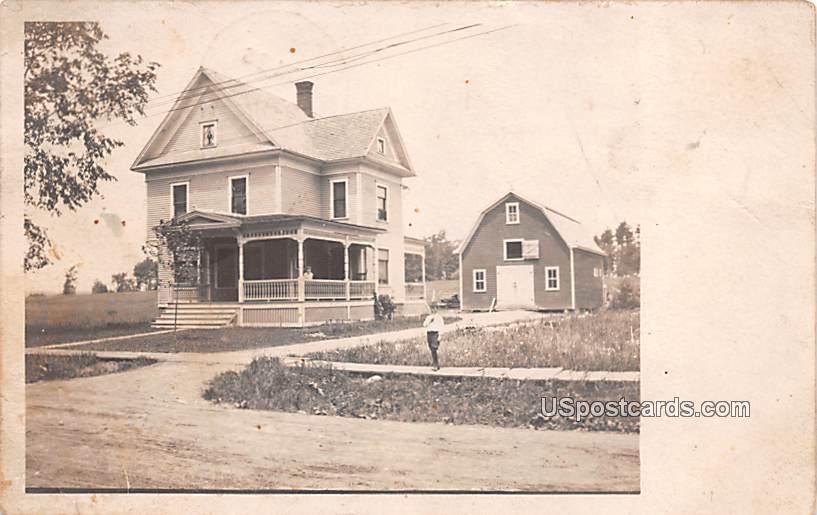 Residence - Massena, New York NY Postcard
