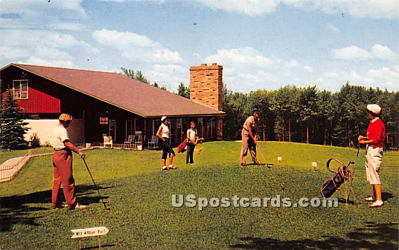 Laurels Hotel and Country Club - Monticello, New York NY Postcard