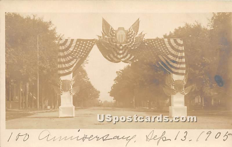 100 Anniversary Sept 13, 1905 - Monticello, New York NY Postcard