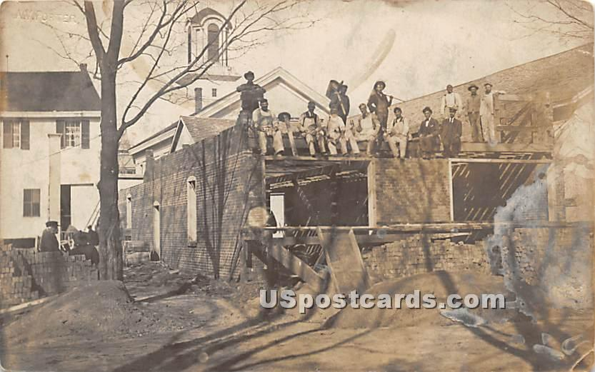 Building Scene - Monticello, New York NY Postcard