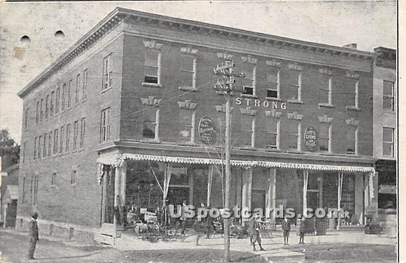 Strong & Co's the Reliable House Furnishers and Stationers - Monticello, New York NY Postcard
