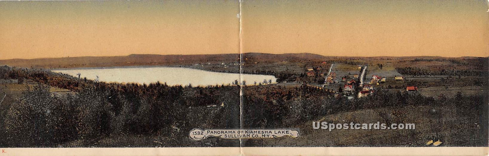 Kiamesha Lake - Monticello, New York NY Postcard