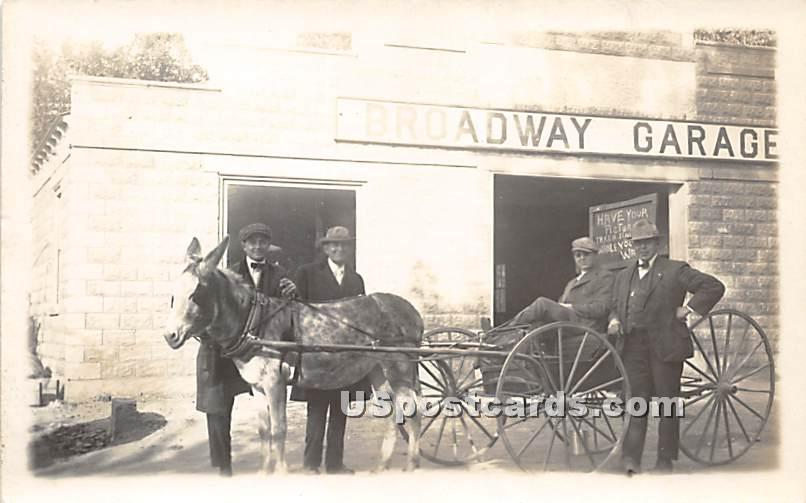 Broadway Garage - Monticello, New York NY Postcard