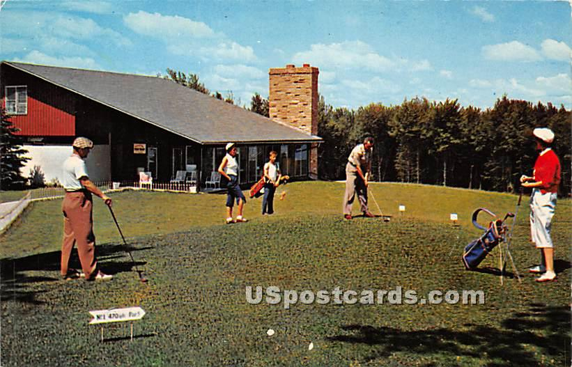 Laurels Hotel & Country Club - Monticello, New York NY Postcard
