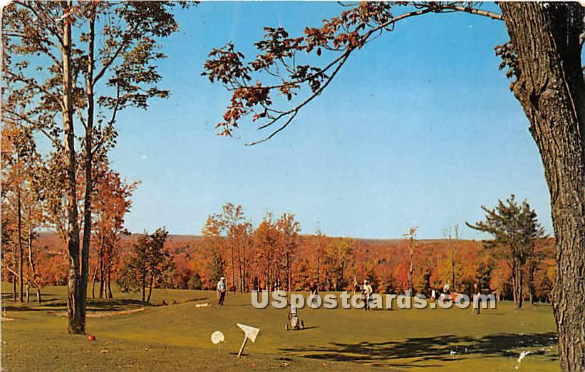 Laurels Hotel & Country Clun - Monticello, New York NY Postcard