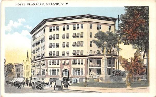 Hotel Flanagan Malone, New York Postcard
