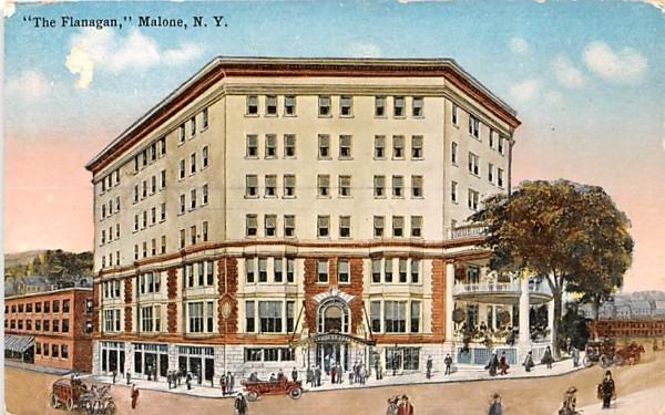The Flanagan Malone, New York Postcard
