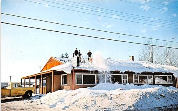 Harmon's Steak House Mayville, New York Postcard