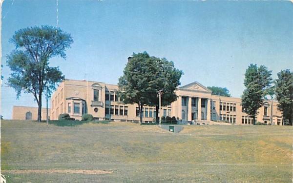 Central School Mayville, New York Postcard