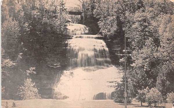 Chequaga Falls Montour Falls, New York Postcard