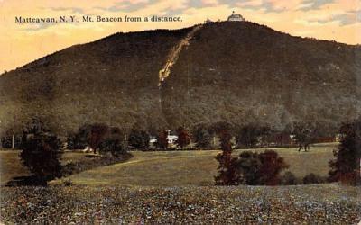 Mt Beacon from a Distance Matteawan, New York Postcard