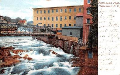 Matteawan Falls New York Postcard