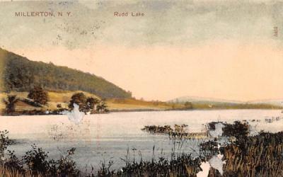 Rudd Lake Millerton, New York Postcard