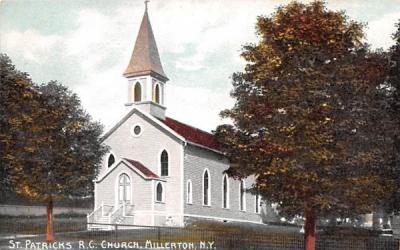 St Patrick's RC Church Millerton, New York Postcard
