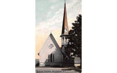 Baptist Church Millerton, New York Postcard