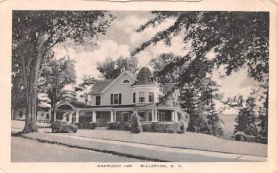 Oakhurst Inn Millerton, New York Postcard