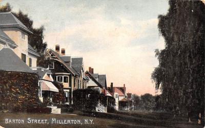 Barton Street Millerton, New York Postcard