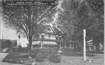 Indian Trail Farm Millerton, New York Postcard