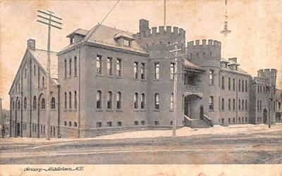 Armory Middletown, New York Postcard