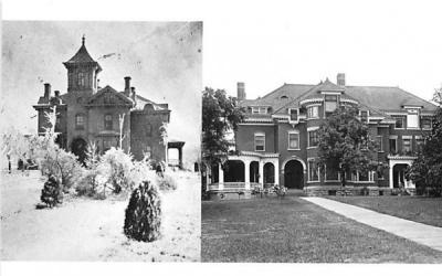 Amory Clemson Mansion Middletown, New York Postcard