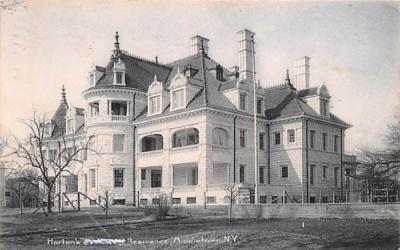 Horton's Residence Middletown, New York Postcard