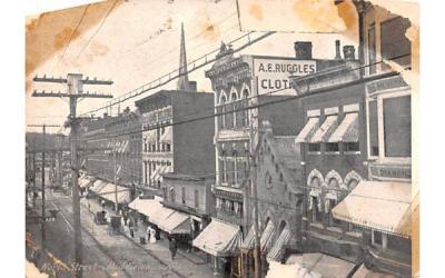 North Street Middletown, New York Postcard