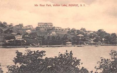 Idle Hour Park Monroe, New York Postcard