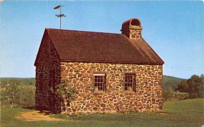 1805-1840 Schoolhouse Monroe, New York Postcard