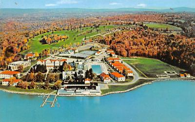 Laurels Hotel & Country Club Monticello, New York Postcard